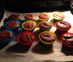 Keto Muffins im Backofen